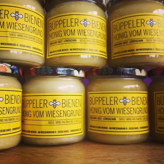 Honig Etikett Ansgar Bolle