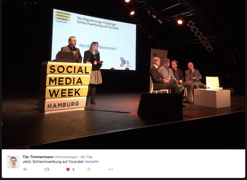 SMWHH-Nachlese: Schleichwerbung und Social Media